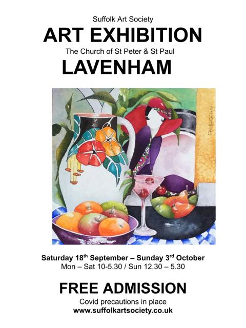 Suffolk Art Society Autumn Exhibition