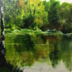 lake landscape Bob Deller